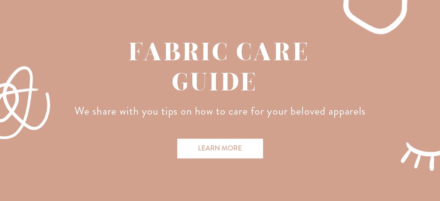 Fabric Care Guide