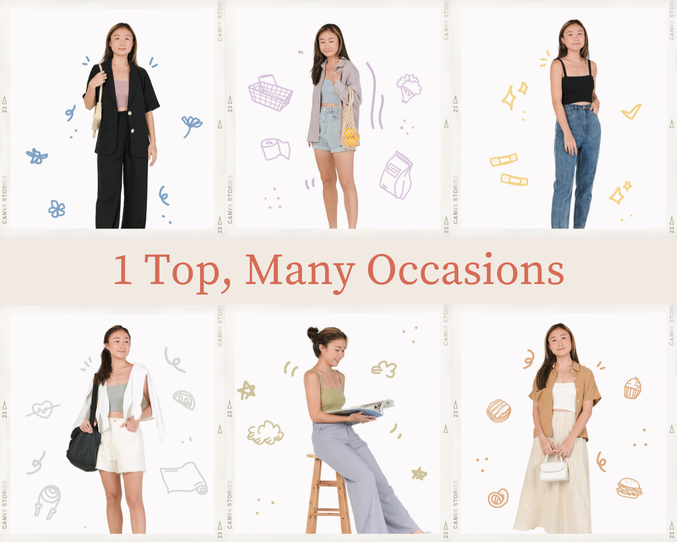 1 Top, Many Occasions!