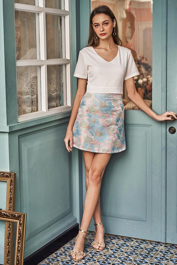 Jenya Jacquard Skirt