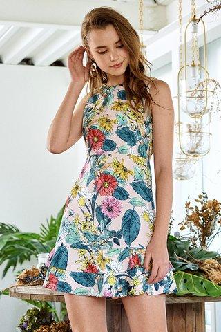 Fleur Floral Printed Dress