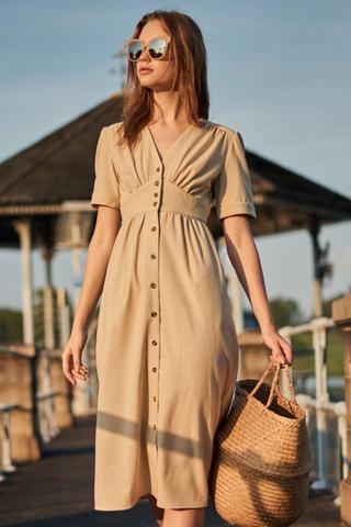 *Restock* Jaden Buttoned Midi Dress