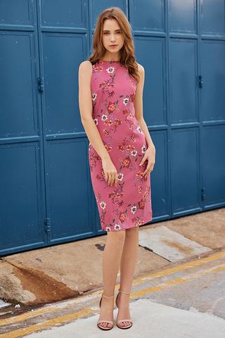 Jenesis Floral Printed Dress