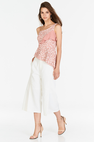 Joie Slit Culottes in White