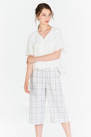 Elin Checkered Culottes