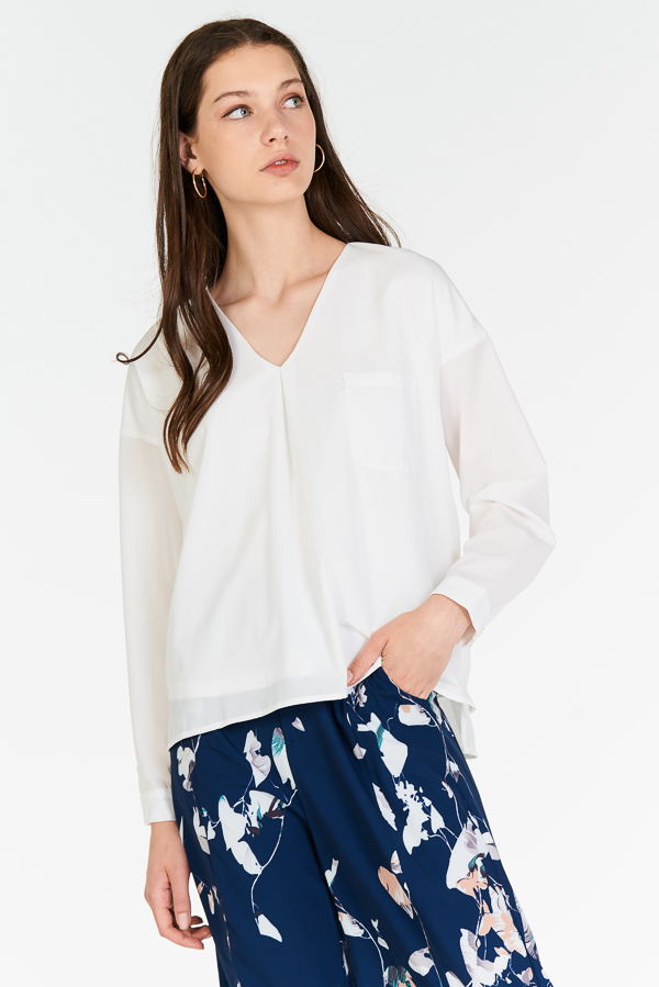 Renaise Top in White