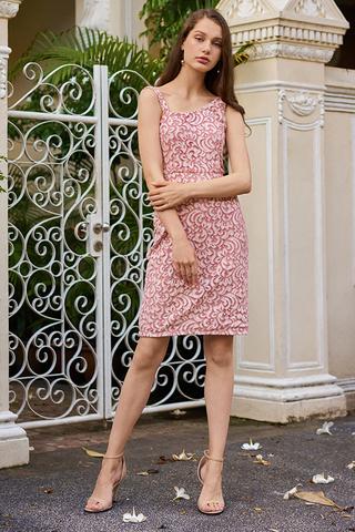 Cherise Lace Crochet Dress