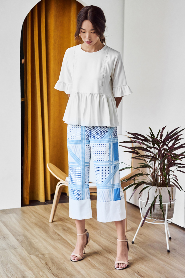 Sharice Printed Culottes