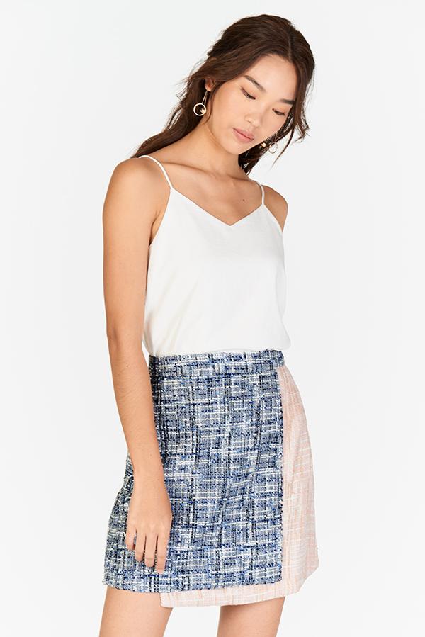 Tanisa Tweed Skirt