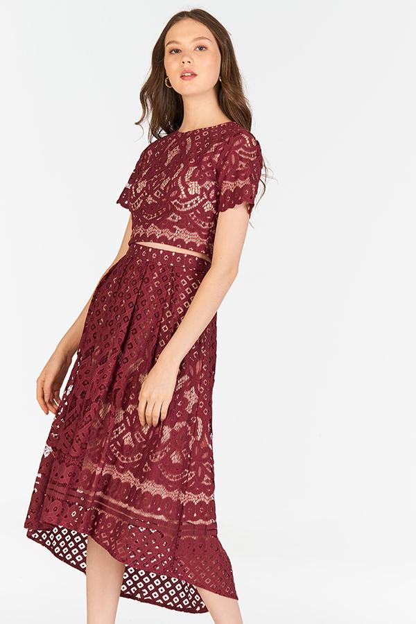Leona Crochet Skirt