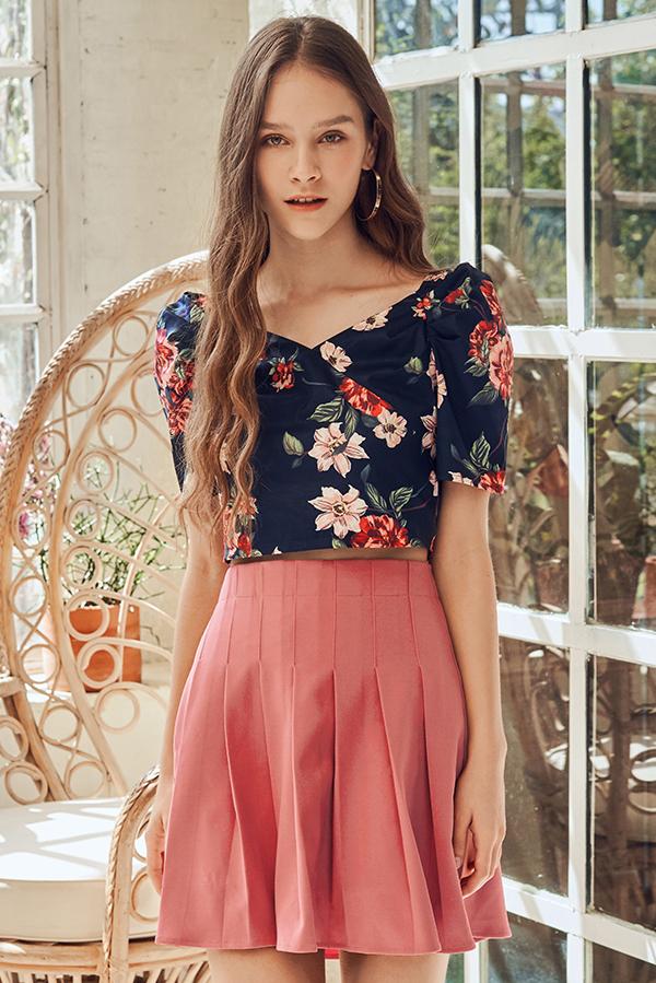 Irinna Floral Printed Top