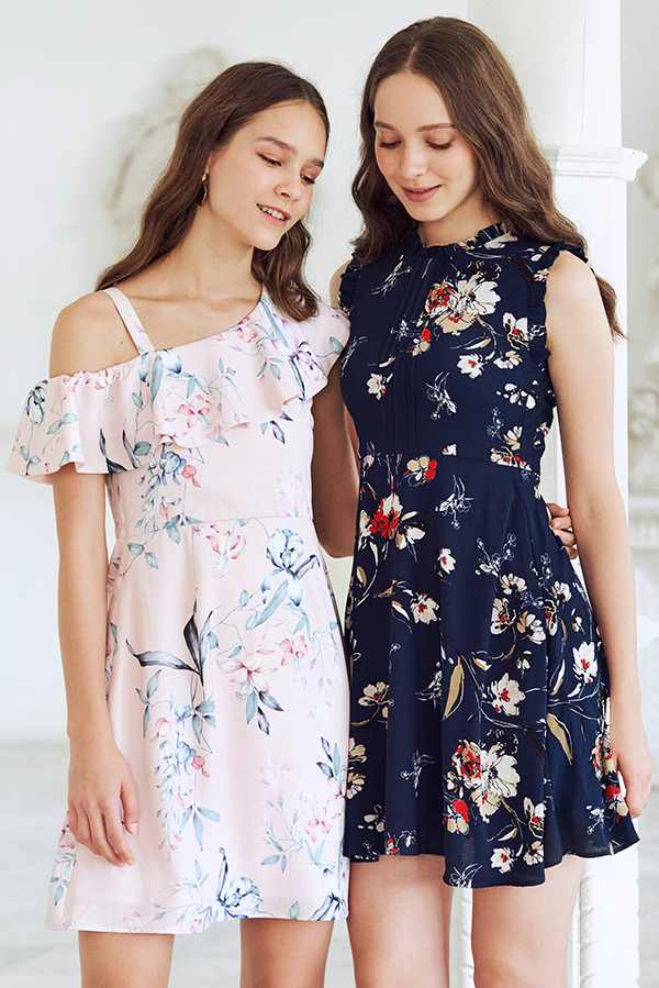 Anista Floral Printed Dress