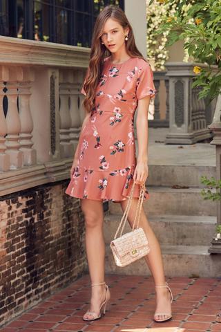 Viette Floral Printed Dress