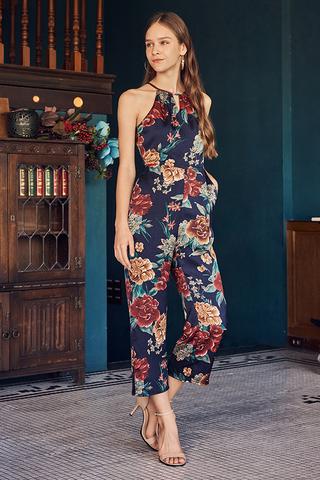 Delfina Floral Printed Jumpsuit