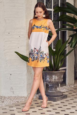 Porina Floral Printed Two Way Dress