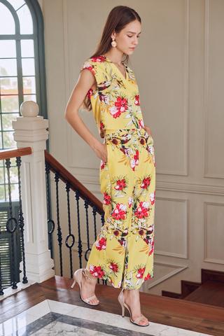 Dalia Floral Printed Pants