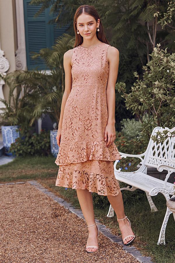 Chantalle Crochet Dress