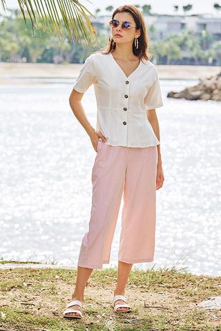 Vilda Stripes Culottes in Pink