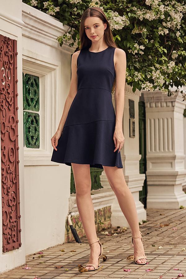 Delanie Dropwaist Dress