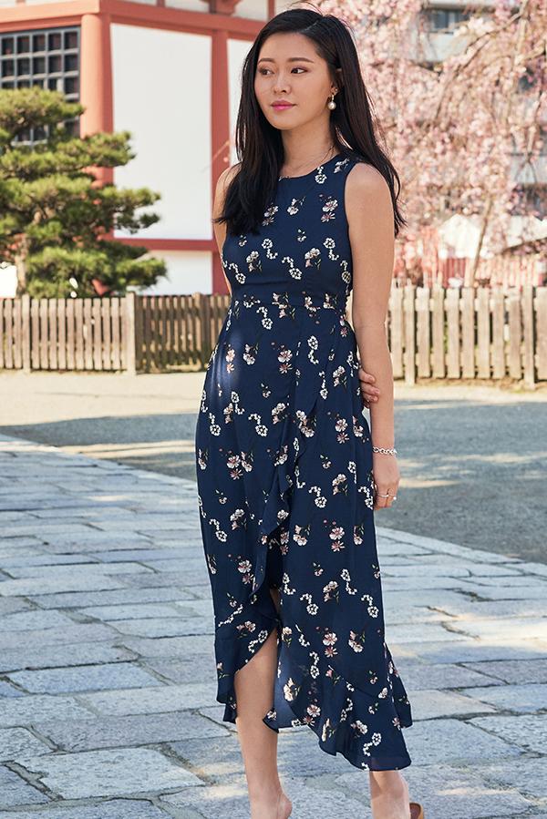 *Restock* Renissa Floral Printed Midi Dress