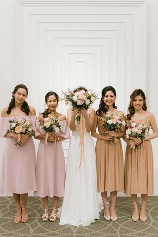 Carena Dress in Pink