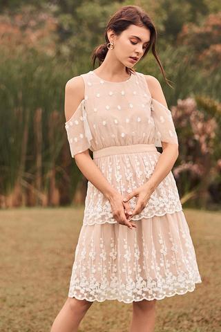 Eunoia Crochet Dress