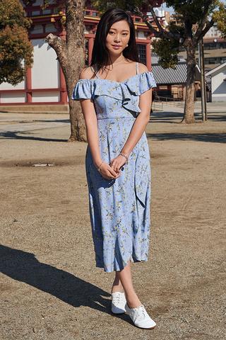 *Restock* Winsell Floral Printed Midi Dress