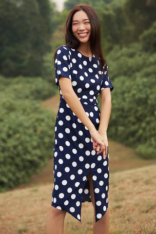 Rindley Polka Dotted Dress