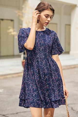 Nerisa Floral Printed Dress