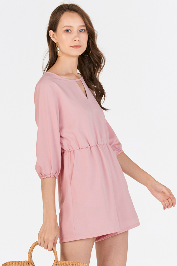 Collisa Romper in Pink