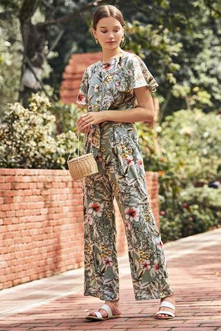 Seraphina Floral Printed Pants