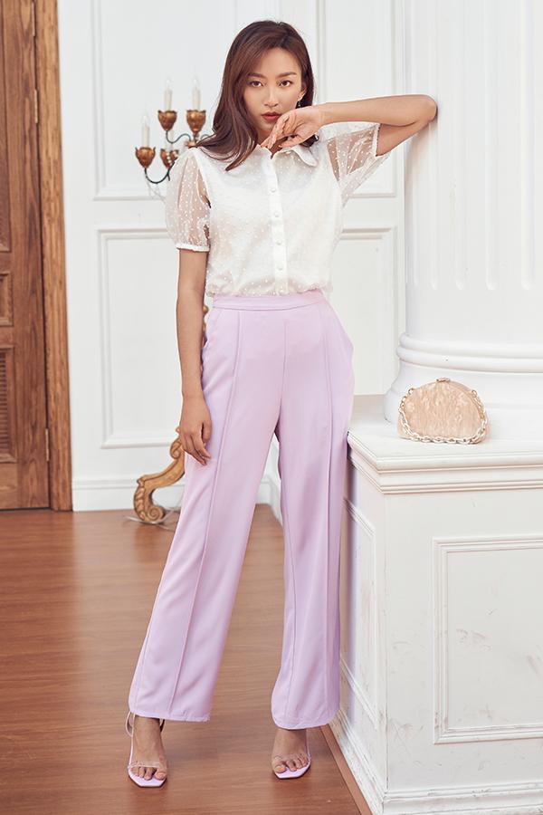 *Restock* Dana Pants in Lilac