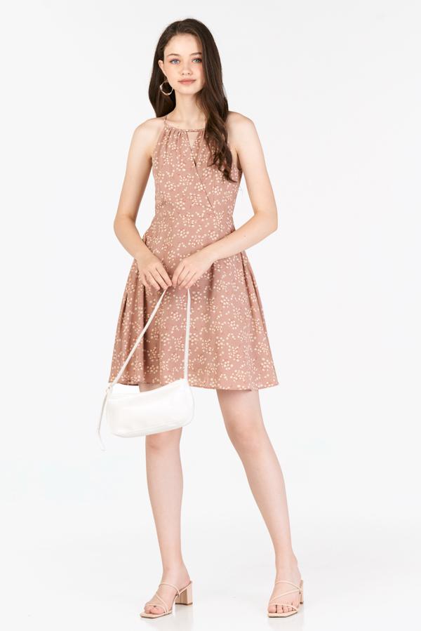 Sheya Dress in Dusty Pink