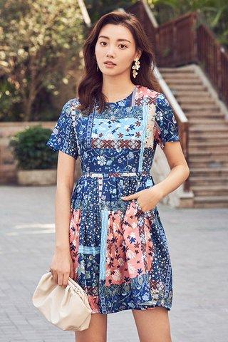 Aliya Sleeved Dress