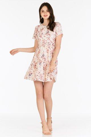 Ellis Dress in Cream