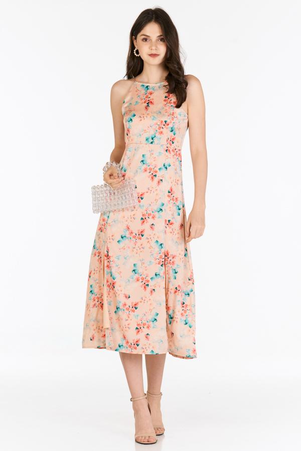 Irin Midi Dress in Cream