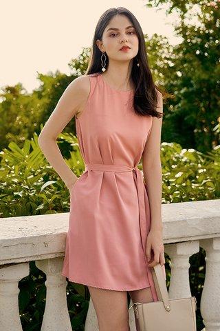 Baeley Dress in Pink
