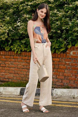 Radella Corduroy Pants in Cream