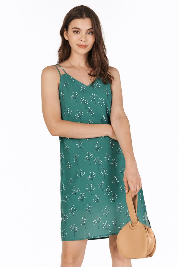 Adabelle Two Way Dress in Fern Green