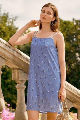 Adabelle Two Way Dress in Cornflower Blue