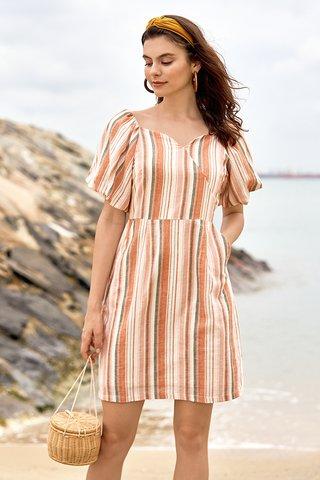 Sheena Linen Dress