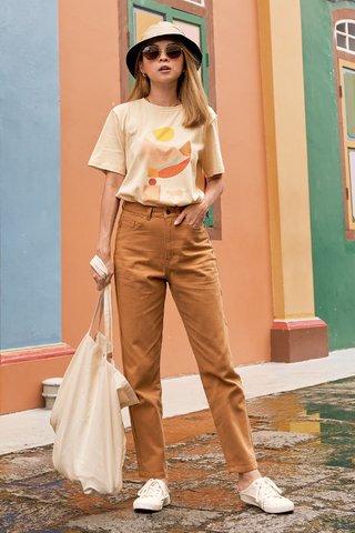 Harrison Denim Jeans in Camel