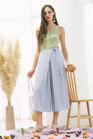 Lowell Culottes in Ash Lilac