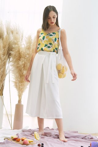 Lowell Culottes in White