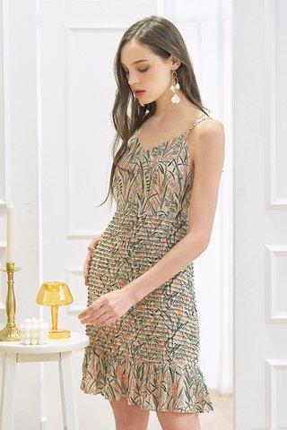 Meldia Pleated Dress