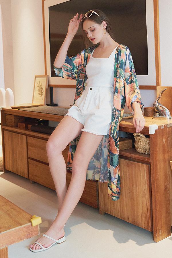 Halona Longline Kimono