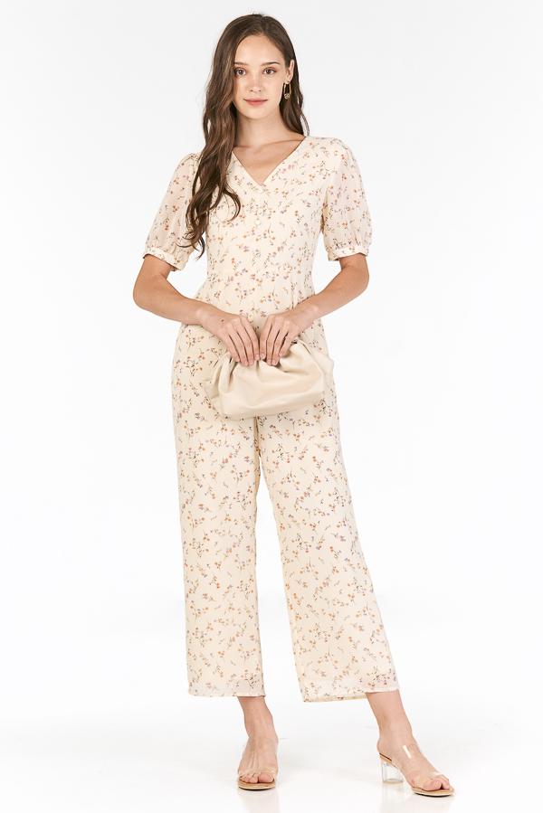 Aurelie Jumpsuit in Cream