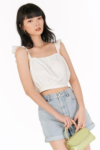 Kelisa Top in White
