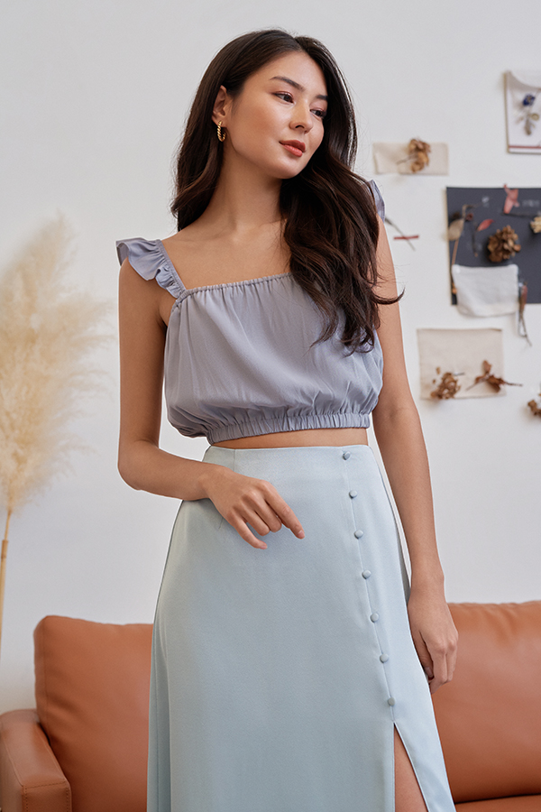 Kelisa Top in Periwinkle