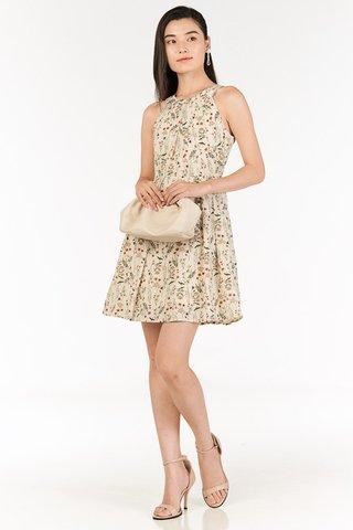 Delisa Dress in Cream