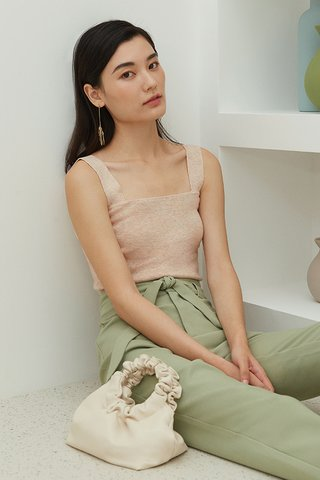 Brea Knitted Top in Paddlepop Cream